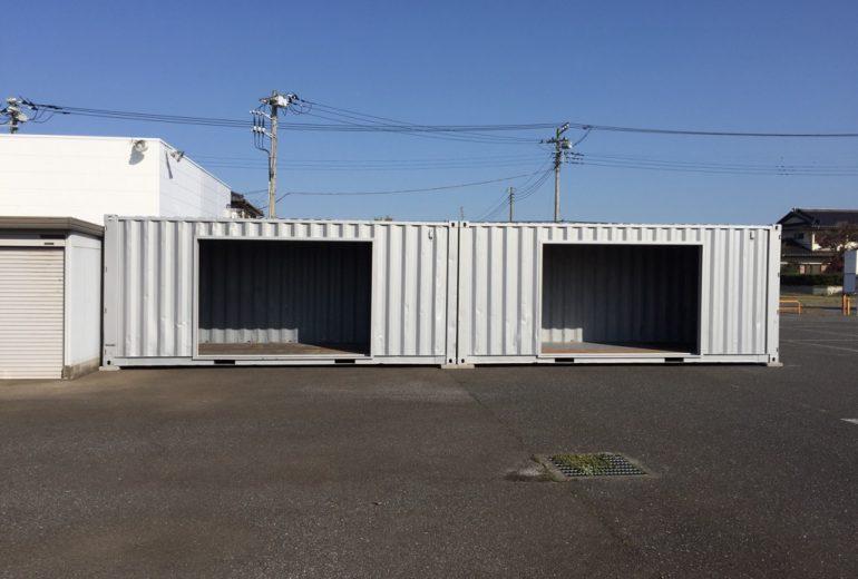 千葉県印西市20F中古コンテナ(シャッター付)5