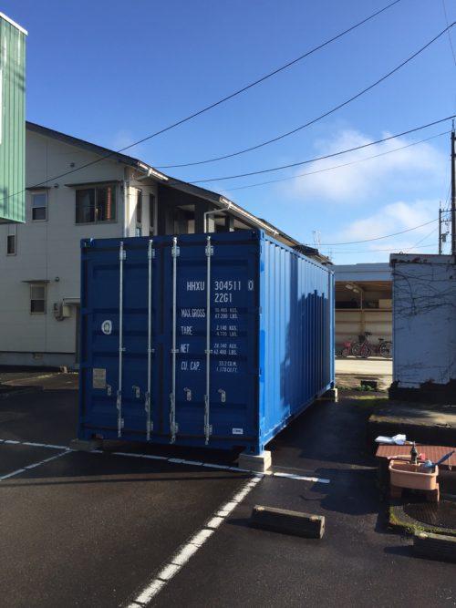 福井県大野市20F新品コンテナ画像