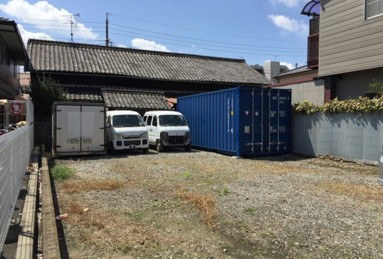 愛知県名古屋市20F新品コンテナ5