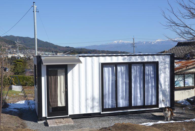 長野県飯田市20Fコンテナハウス1