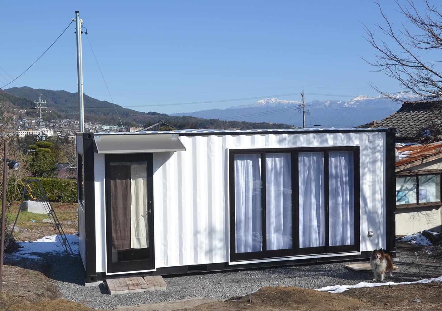 長野県飯田市20Fコンテナハウス画像